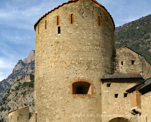 Vauban's Ramparts, Villefranche de Conflent, Pyrenees, France