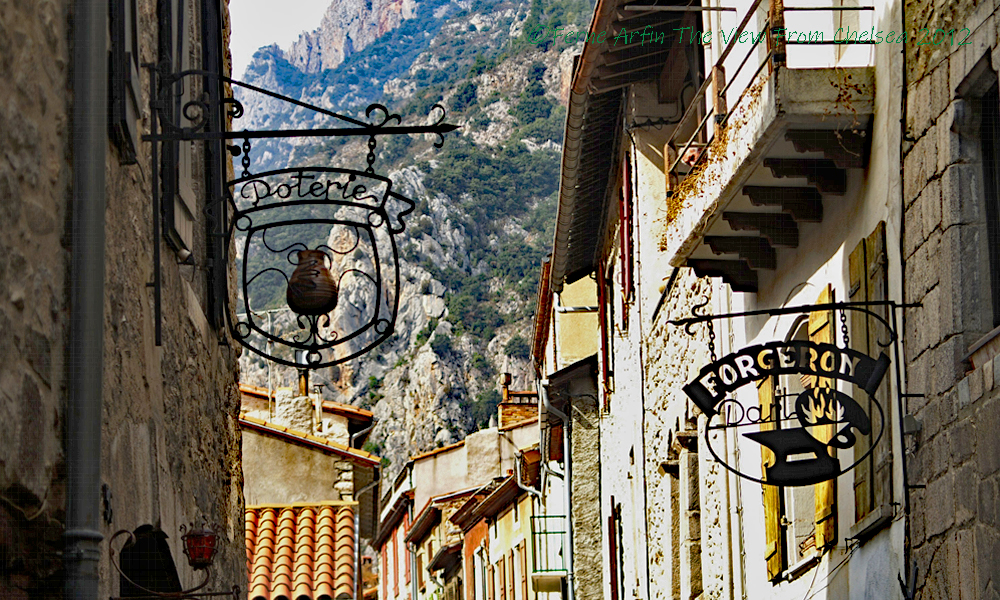 Villefranche de Conflent, France,Pyrenees, Catalonia