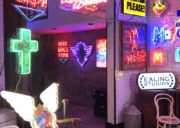 Electric City, Neon Exhibition,Leadenhall Market, Gods Own Junkyard