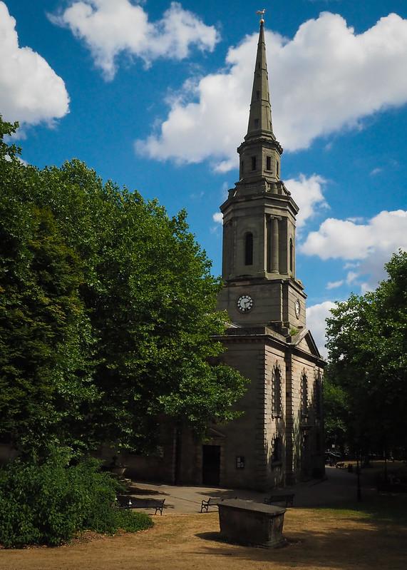 C of E, Church, Birmingham, England, UK,Georgian Church, Historic Church