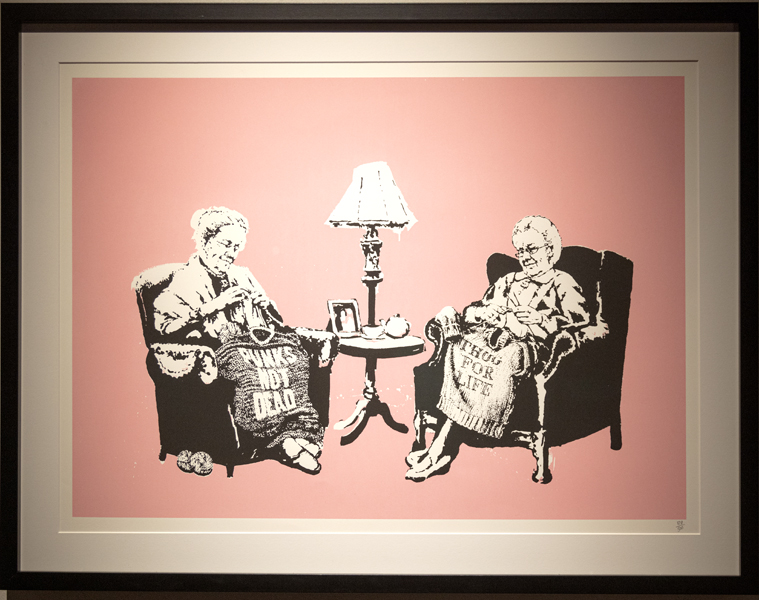 Banksy, london artists, art shows, The Art of Banksy