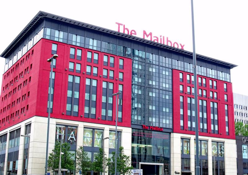 shopping in Birmingham, BBC Birmingham, Harvey Nichols,The Mailbox