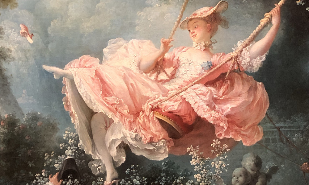 Fragonard, the swing, naugty pictures, 18th-century-porno,the-wallace-collection