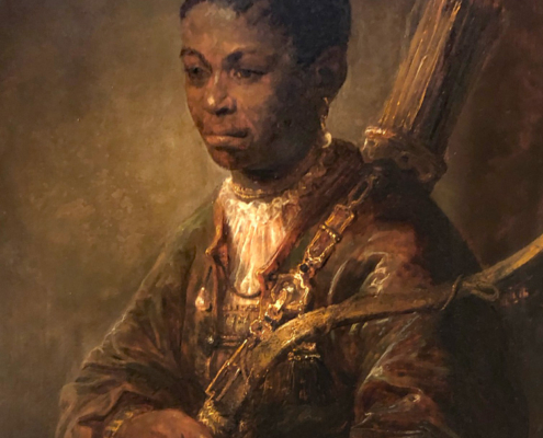 Govaert Flinck,early painting of black boy, the wallace collection, london, enalnd
