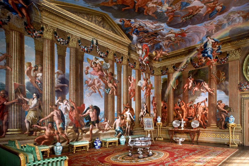 Burghley House, Stamford, Lincolnshire, Rutland, England, Elizabethan House, The Heaven Room,