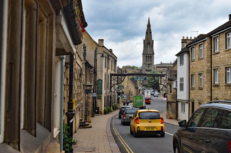 High Street St Martins, Stamford, England