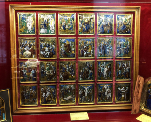 The Wallace Collection, Life of Christ, enamelled plaques