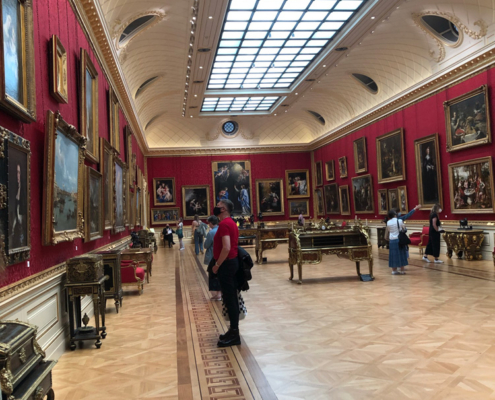 Great Gallery, The Wallace Collection in London, England