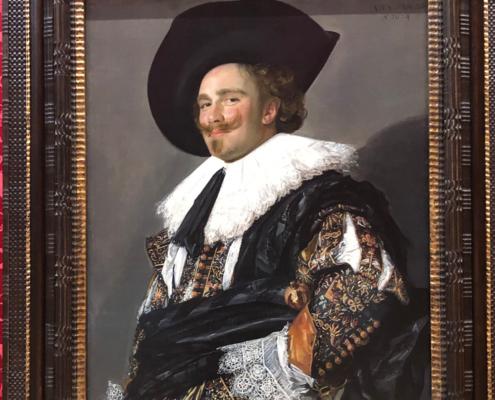 famous portrait, frans hals, wallace collection london, the laughing cavalier