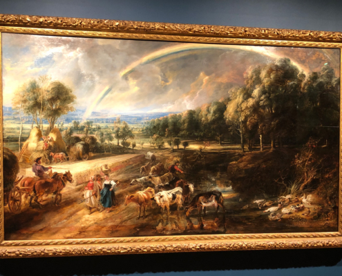 The Rainbow Landscape, Rubens, the Wallace Collection in London
