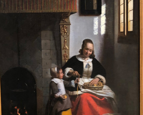 Dutch painting, Pieter de Hooch, wallace collection in London